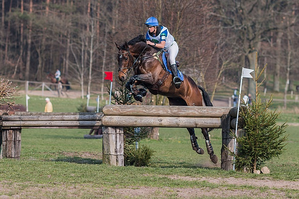 Karin Donckers BEL Fletcha van 't Verahof © Eventing Photo