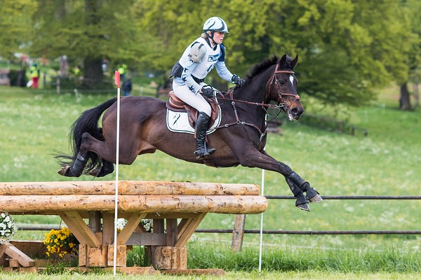 Janou Bleekman NED Granntevka Prince | © Eventing Photo