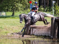 Sanne de Jong NED Enjoy © Eventing Photo