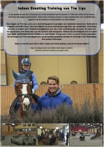 Tim Lips Indoor Eventing | SGW Online