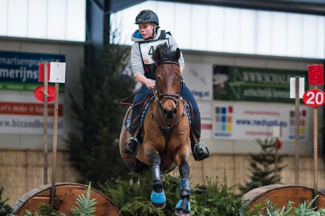 Femke van Os NED Zuidzee | Copyright Eventing Photo