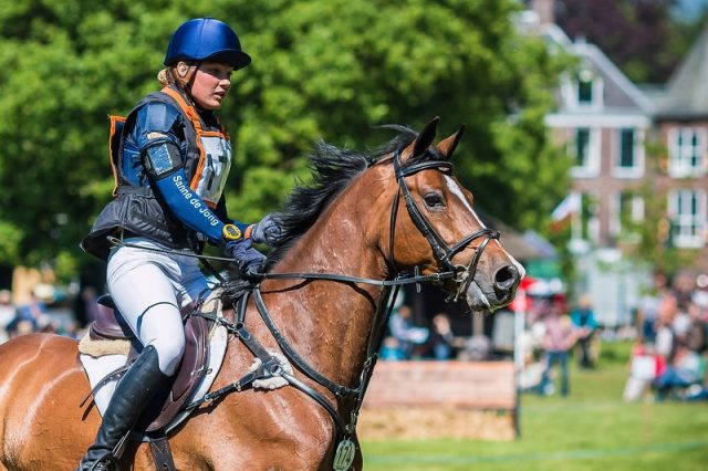 Sanne de Jong NED Baas B | Copyright Eventing Photo