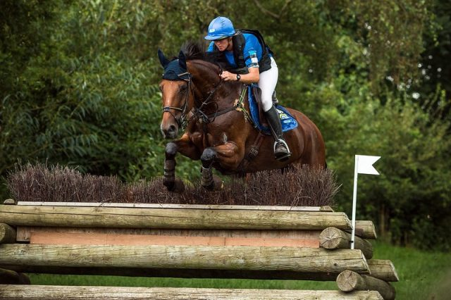 Karin Donckers BEL Lady Brown © Eventing Photo