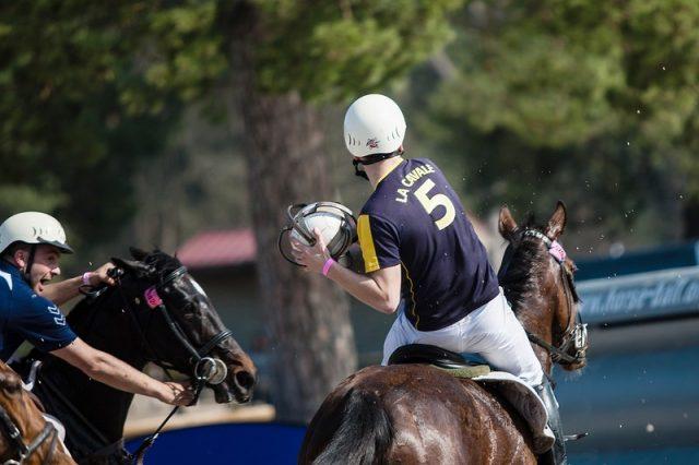 Horseball eventing Photo