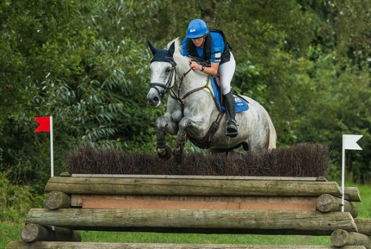 Karin Donckers BEL Gini ten Hunsel © Eventing Photo