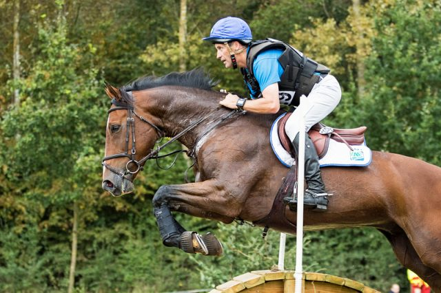 Joris Vanspringel BEL Imperial van de Holtakkers | CIC2* Waregem 2016 © Eventing Photo