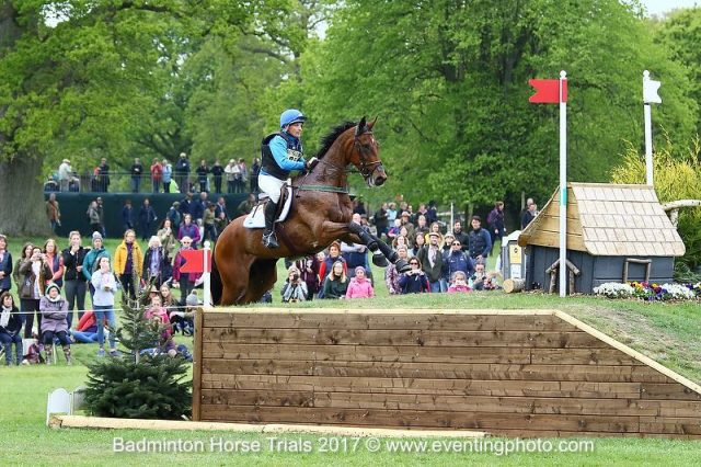Joris Vanspringel BEL Lully des Aulnes | Mitsubishi Badminton Horse Trials 2017 © Eventing Photo