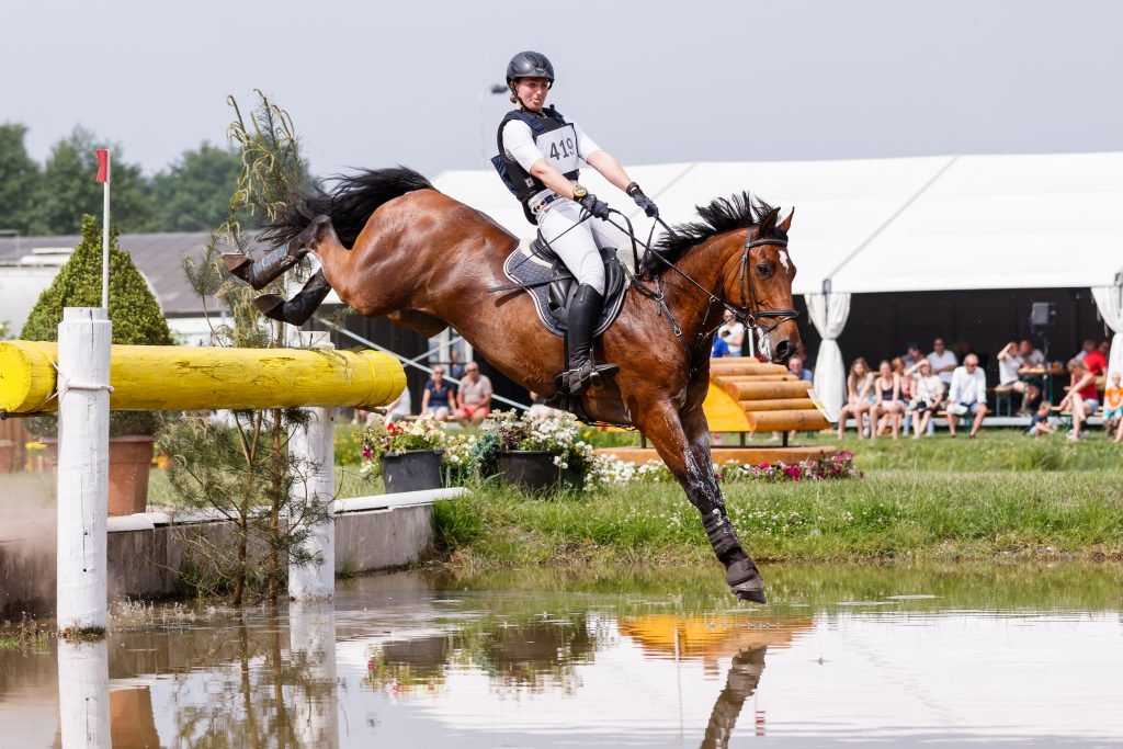 Aliene Ruyter NED Bomba   CCI2* Renswoude 2017 © Eventing Photo