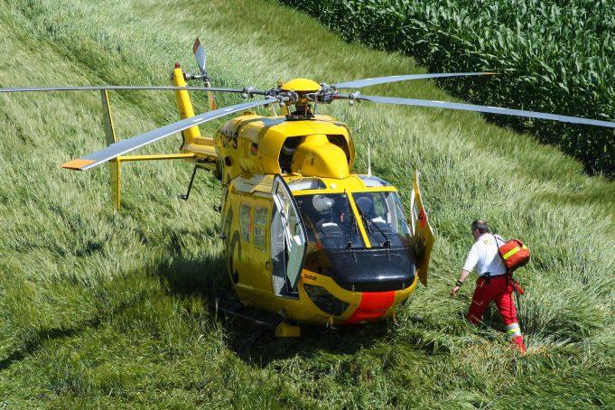 Trauma helikopter © Stockphoto