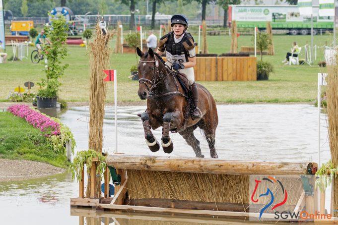 Margo van Nijnatten (NED) High Quality CS | Grandorse Horse Trials 2018 © Eventingphoto